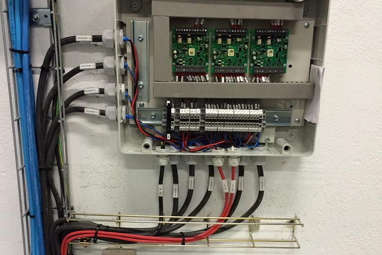Protección de instalaciones electricas para evitar la corrosion