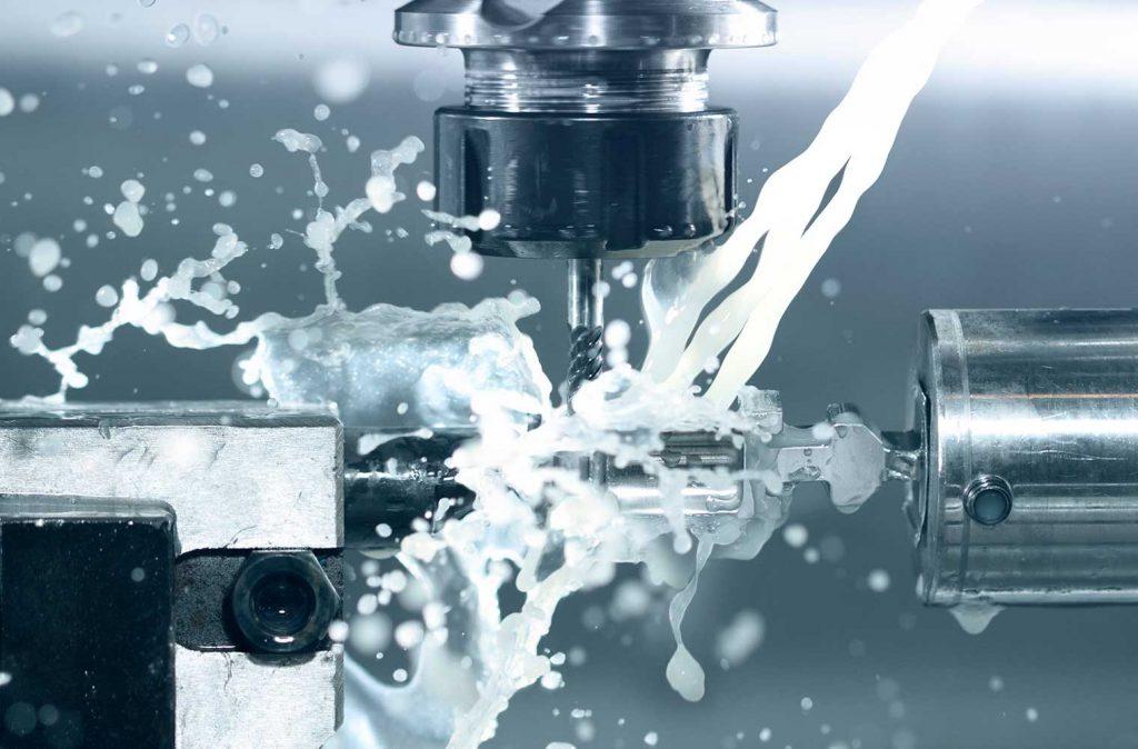 Uso de taladrina para mecanizado