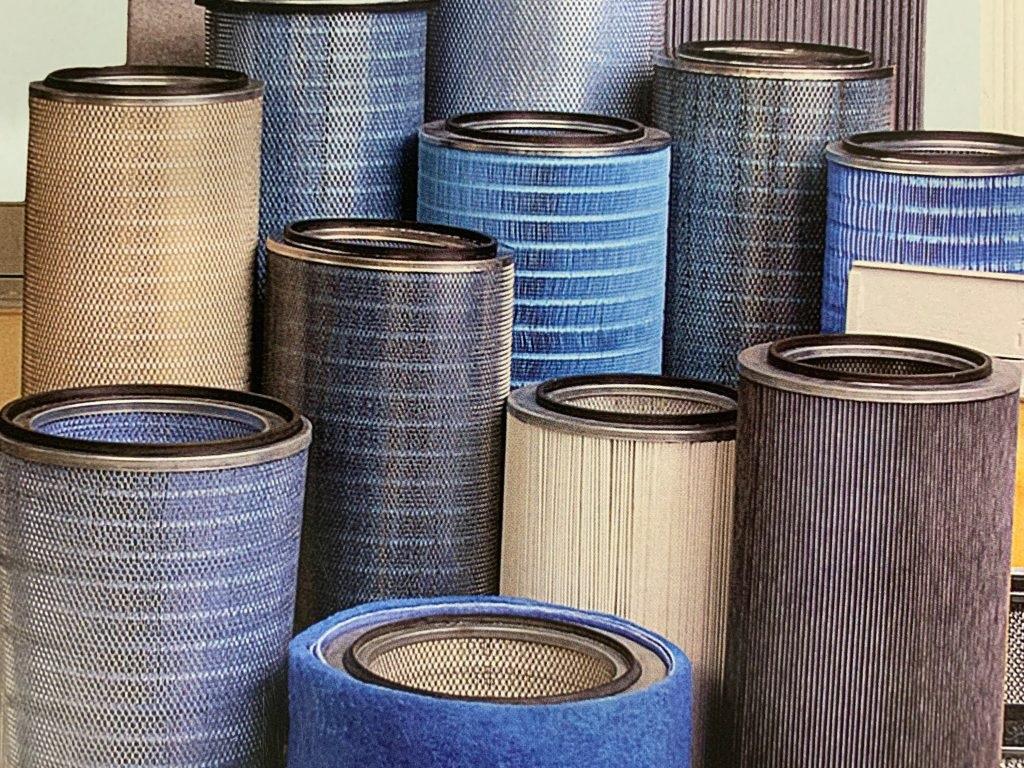filtros de aire para aplicación en maquinaria industrial