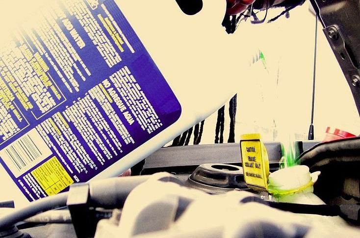 elegir el refrigerante adecuado para el vehículo